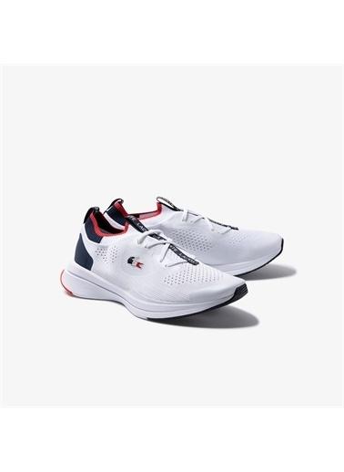 Lacoste Lacoste Run Spin Knitoly Kadın Beyaz Sneaker Beyaz